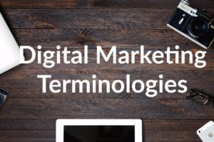 Digital Marketing Terminologies